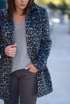 LOFT Leopard Car Coat   My Style Vita