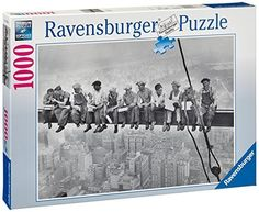 Ravensburger Puzzle - Lunchtime, 1932 (1000Pcs) (15618)  Manufacturer: Ravensburger Enarxis Code: 015907 #toys #puzzle #Ravensburger #Lunchtime #New_York