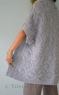#218H Hamachi Cardigan   Blanket PDF Bundle #knitting #SweaterBabe.com