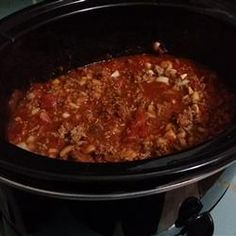 Spicy Slow-Cooked Beanless Chili Allrecipes.com