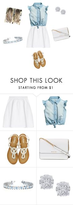 """""""Summer Thing"""" by jess-stylist22 on Polyvore featuring malo, Michael Kors, Allurez and Effy Jewelry"""