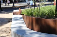 CLEC Site, Docklands Park- Stage 2 by MALA Studio « Landscape Architecture Works | Landezine #streetfurniture