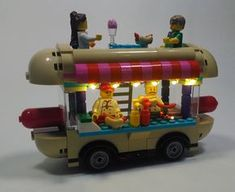 Lego Design, Lego Duplo, Lego City, Legos, Lego Pizza, Lego Poster, Lego Craft, Minecraft Crafts, Lego Christmas Village