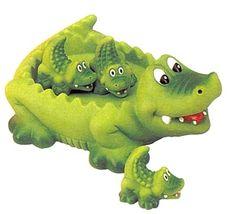 Floating Alligator Family Bath Toy
