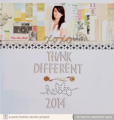 Think different - Jenni Bowlin Mercantile kit layout