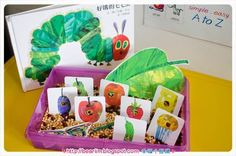 [tot school] The Very Hungry Caterpillar