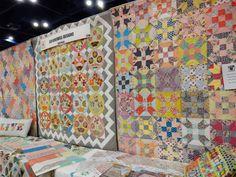 Fall 2014 Quilt Market Part 3: Moda Booths   A Quilting Life - a quilt blog
