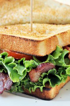 Super BLT Sandwich Recipe with Guacamole and Cream Cheese