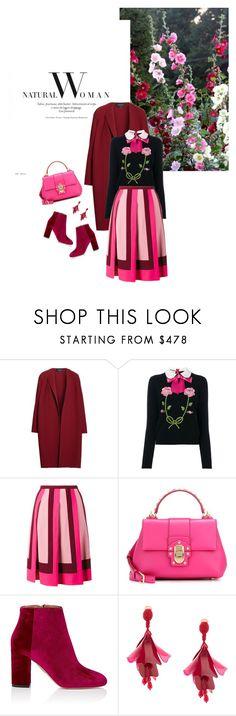 Fall/Winter 2017: Trendy and chic by ecletica-and-chic on Polyvore featuring Gucci, Lafayette 148 New York, Valentino, Aquazzura, Dolce&Gabbana and Oscar de la Renta