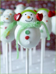 bonhomme neige en sucre