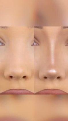 Nose Makeup, Edgy Makeup, Contour Makeup, Skin Makeup, Simple Makeup, Nose Contouring, Contouring Products, Highlighting Contouring, Eye Makeup Designs