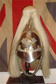 Victorian Fife Light Horse Helmet.