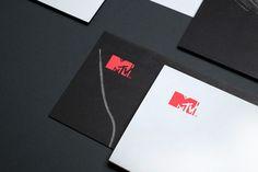 MTV Stationery Corporate Stationery Design by Motherbird