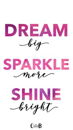 Monday morning motivation for your cell phone iPhone home screen. Sparkle more. Shine Bright Quotes, Sparkle Quotes, Monday Morning Quotes, Monday Morning Motivation, Weekend Quotes, Best Inspirational Quotes, Uplifting Quotes, Dream Quotes, Life Quotes