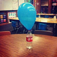 End of school year activities-candy awards and balloons with activities in them on the last days