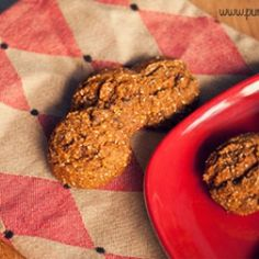 pumpkin chia seed chocolate chip cookies with amaranth flour