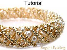 Bördeln Lernprogramm Armband Halskette  von SimpleBeadPatterns
