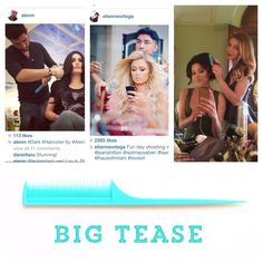 Used by top stylists to create the most beautiful hair! The #milanihair BIG TEASE comb! The #bestteasecomb you will ever own, promise! Available at http://milanihair.com/Milani_Products/Big_Tease/ $9.99. We ship worldwide!