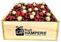 Fruit Hamper with Cherries and Ferrero Chocolates
