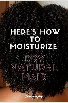TheEverydayOnes ⋆ Your Curl, Your World. - Struggling to moisturize your natural hair? Are you dealing with dry, dusty hair? Looking to grow your natural hair? Moisturized natural hair is possible with these tips and tricks! Natural Hair Types, Natural Hair Care Tips, Natural Hair Regimen, Long Natural Hair, Natural Hair Updo, Natural Hair Journey, Natural Styles, Styling Natural Hair, Natural Hair Care Products