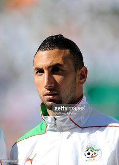 Rafik Halliche of Algeria