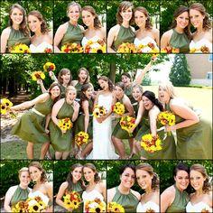 Bridesmaids Photos - Wedding Photo