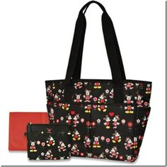 Disney Discovery- Minnie Mouse 5 in 1 Diaper Bag