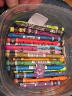 Caran D'Ache Neocolor II watercolor crayons by upstatelisa, via Flickr   can't wait to try these