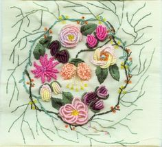 Hand Embroidery Patterns | embroidery patterns , some of which include ribbon and lace embroidery ...