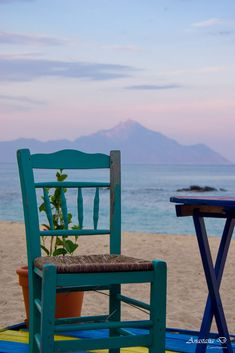 Beach in Sarti, Halkidiki, Greece