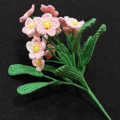 Crochet Flowers, Bouquets, Cactus, Applique, Artificial Floral Arrangements, Small Flowers, Amigurumi, Bouquet, Crocheted Flowers