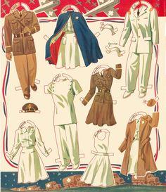 Kathleen Taylor's Dakota Dreams: Thursday Tab- Merrill Army Nurse and Doctor, 1943