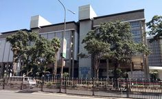 The Central Bank of Kenya building in Nairobi on June 2, 2014. PHOTO   SALATON NJAU   FILE