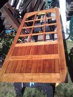 A restoration of a solid wood screen door: http://wood159.tumblr.com/post/110215751828/kerins-screen-door