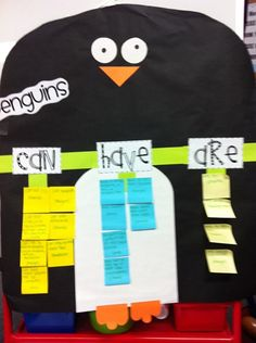 Penguin can/have/are tree chart. Love it!