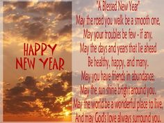 blessed new year new year clipart christian holidays quotes about new year year