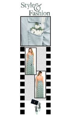 """""""Dash Posh Boutique (21)"""" by irresistible-livingdeadgirl ❤ liked on Polyvore featuring Yves Saint Laurent, Alexander Wang, beautiful, pastel, maxidress, saintlaurent and pastels"""
