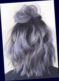 Grey Ombre Hair, Dyed Hair Purple, Blue Hair, White Hair, Pink Hair, Gold Hair Colors, Hair Color Pink, Coco Chanel Mode, Bridesmaid Hair Up