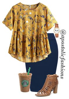 I love the shirt pattern, color and loose feminine drape paired with the skirt. - Source by AriaHarpers outfits modest Cute Modest Outfits, Plus Size Outfits, Dress Outfits, Casual Outfits, Jean Skirt Outfits, Dresses Dresses, Casual Clothes, Mode Outfits, Fall Outfits