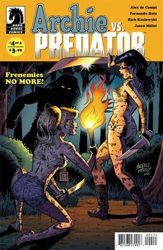 As casualties continue to mount, it's up to Betty and Veronica to put aside their differences if the gang hopes to rid Riverdale of the Predator menace—but can the girls keep their claws out of each o