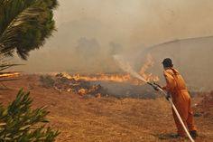 Δημιουργία - Επικοινωνία: Φωτιές: Σε ύφεση τα πύρινα μέτωπα στην Πελοπόννησο...