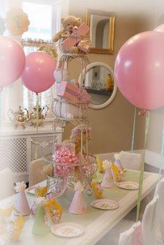 Baby girl shower decor #babyshower