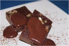 Csokis szelet dióval - paleo