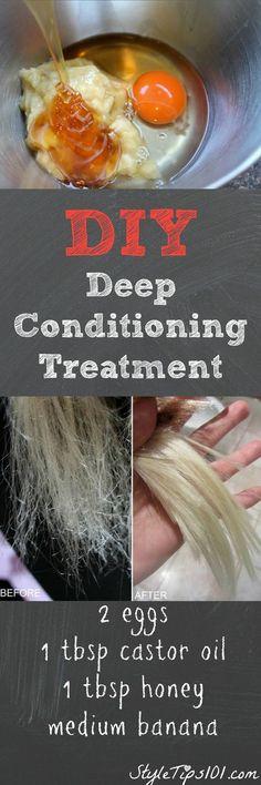 DIY Deep Conditioning Treatment