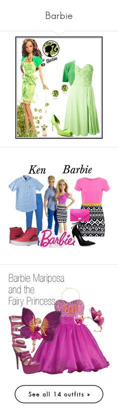 """Barbie"" by cartoongirl ❤ liked on Polyvore featuring Ermanno Scervino, Sebastian Milano, Michael Kors, Glitzy Rocks, art, Monet, Boohoo, LILI GAUFRETTE, Balmain and Talbots"
