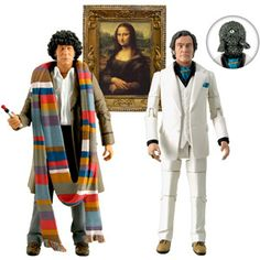"""Doctor Who 5"""" Action Figure Set, City of Death"""