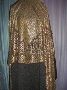 Gold Assuit shawl