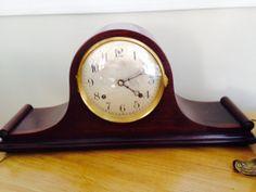 Antique Ansonia Tambour Mantel Clock