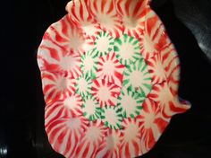 Edible candy bowls - Grandma made some of these this Christmas and they were great!  Caution, they will melt and get sticky when introduced to water.