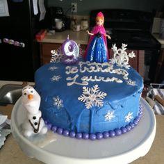 Disney Frozen Elsa Anna Cake Scene WAFER Edible Decoration Set